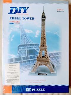 Rompecabezas 3d Torre Eiffel Paris Francia 47 Centimts Alto