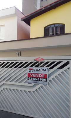 Sobrado Residencial À Venda, Casa Branca, Santo André. - So21791