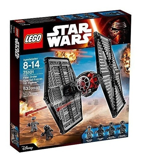 Novo Conjunto LEGO 30276 Star Wars forças especiais de primeira ordem Tie Fighter