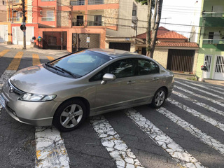 Honda Civic 1.8 Lxs Aut. 4p 2007 S/entrada