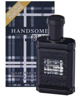 Perfume Handsome Black 100ml - Paris Elysees