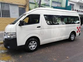 Toyota Hiace 2.7 Ventanas Superlarga Mt 2014