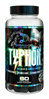Typhon - Dragon Pharma (60 Cápsulas)