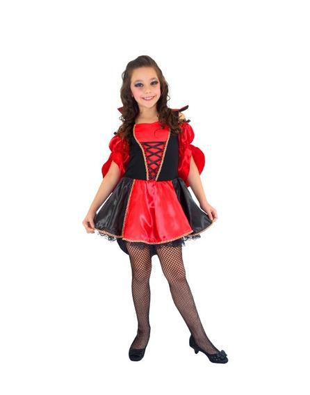 Fantasia Vampira Elvira Infantil