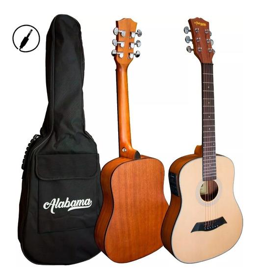 Guitarra Electroacustica Alabama Little Mini Fishman + Envio