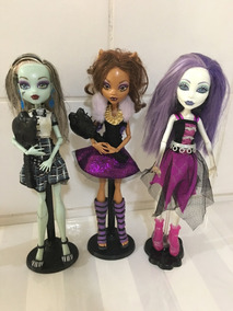 Monster High Alive: Frankie, Spectra E Clawdeen Wolf