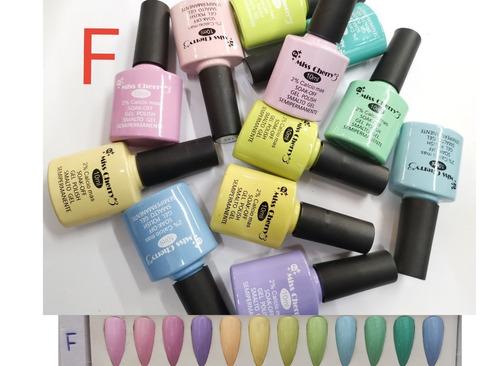 Imagen 1 de 2 de 12 Gelish Miss Cherry Gama F 10ml Color Pastel+1 Lima Regalo