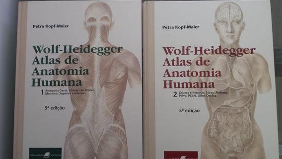 Atlas De Anatomia Humana -wolf, Heidegger