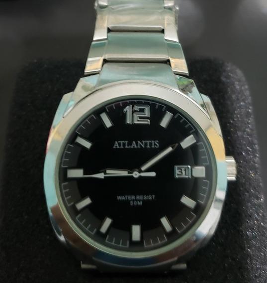 Relógio Atlantis Time Black