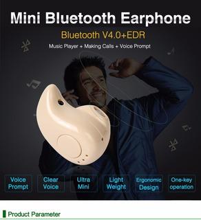 Mini Fone Ouvido - Intra Auricular - Bt 4.0 + Edr