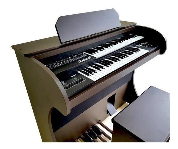 Orgão Eletrônico Rohnes Onix Plus Marrom R1343
