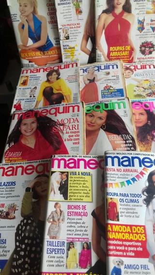 Manequins 96 / 12 Exemplares/ Com Moldes/ Frete Grátis