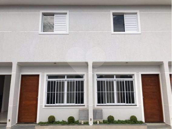 Sobrados Novos Em Condomínio Fechado No Bairro Requisitado Jardim Virginia Bianca - 170-im311834