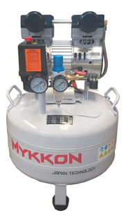 Compresor Dental Silencioso 2hp 35 Litros Mykkon Japon 25db