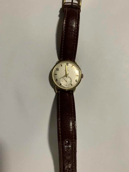 Relógio Ômega Automatic Em Ouro.