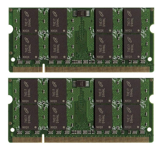 Memoria Notebook Ddr2 4gb 2 X 2gb 667mhz Pc2-5300s-55-13