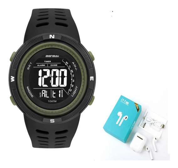 Relógio Mormaii Masculino Wave Preto Mo3590ad/8v