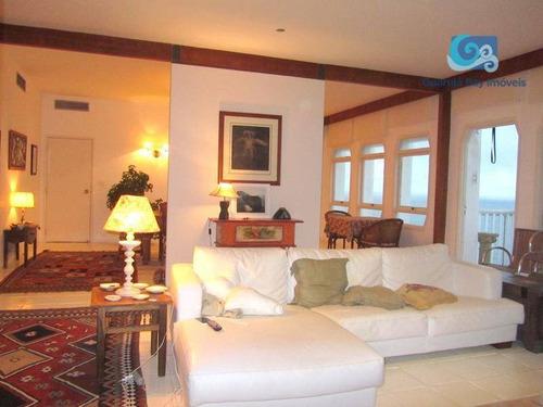 Imagem 1 de 30 de Apartamento Com 3 Dormitórios À Venda, 200 M² Por R$ 1.900.000,00 - Praia Da Enseada - Guarujá/sp - Ap4707