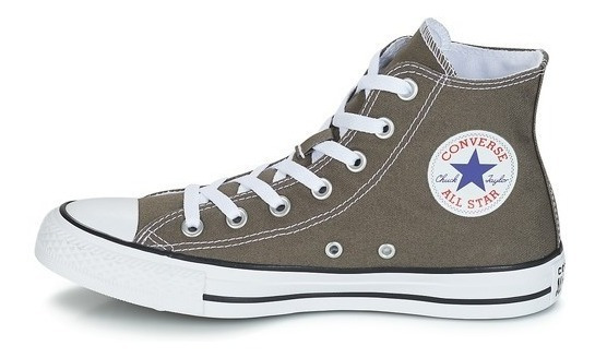 Botitas Converse All Star Gris Medio Blanco! 100% Original!