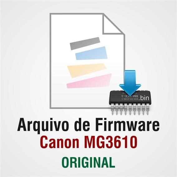 Arquivo De Firmware (.bin) Da Canon Mg3600 Mg3610 (qm7-4451)