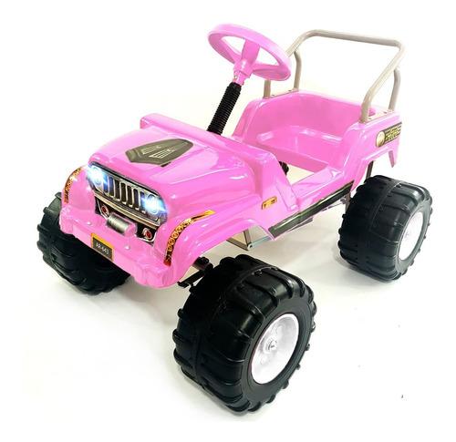 Imagen 1 de 8 de Karting A Pedal Auto Infantil Tipo Jeep Mipong