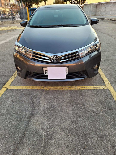 Imagem 1 de 6 de Toyota Corolla 2017 2.0 16v Xei Flex Multi-drive S 4p