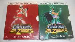 Box Blu-ray Cavaleiros Do Zodíaco Volume 1 E 2 - Digitask