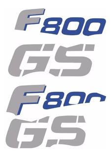 Kit Adesivos De Tanque Bmw F800gs Trophy 2012 Troph