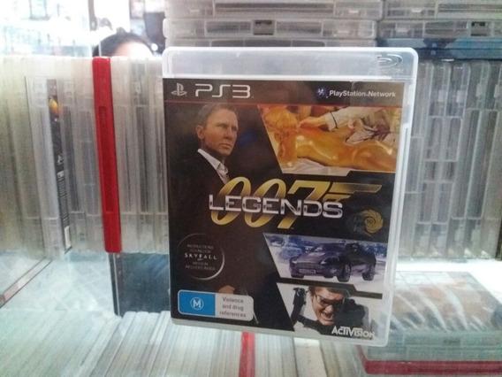 007 Legends Usado Original Manuais Ps3 Mídia Física.