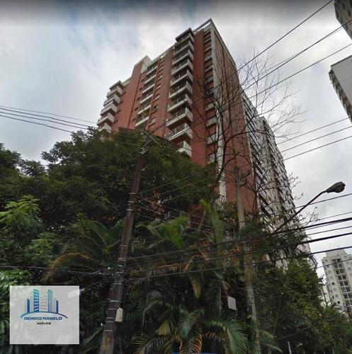 Imagem 1 de 15 de Apartamento Com 1 Dormitório À Venda, 40 M² Por R$ 485.000,00 - Moema - São Paulo/sp - Ap3876