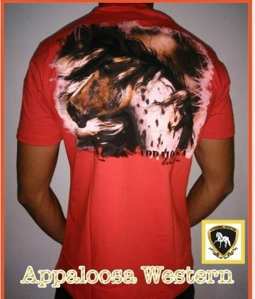 Camiseta Country Estampada Appaloosa Western, Muladeiros.