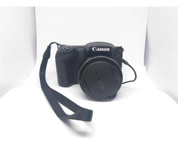 Câmera Digital Canon Powershot Sx400is 16mp, Lcd 3.0