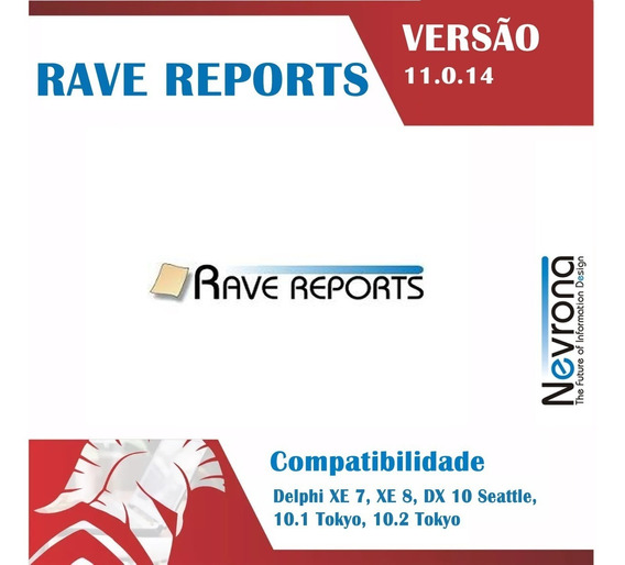 Rave Reports 11.0.14 Para Dx7 Ao Rad Studio 10.3 Rio
