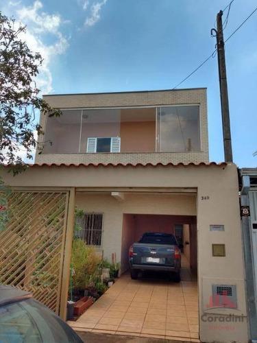 Casa Com 3 Dormitórios À Venda, 211 M² Por R$ 348.000,00 - Jardim Marajoara - Nova Odessa/sp - Ca2714