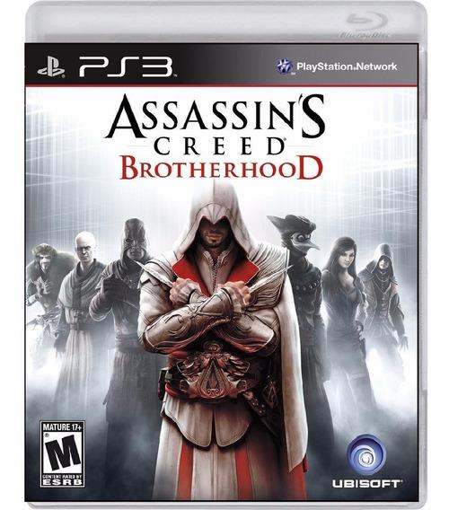 Assassins Creed Brotherhood - Mídia Física / Ps3