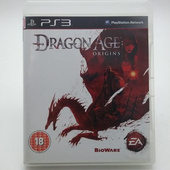 Dragon Age Origins Ps3 Mídia Física Original Perfeito