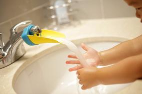 Extensor De Torneira Para Crianças Lavar Mãos Escovar Dentes