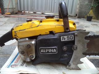 Moto Serra Alpina A90 Antiga Nao Sthill Husqvarna Antiga