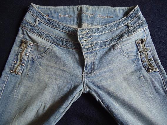 Jeans De Dama Talla 11 Pequeño Marca Bonage Usado