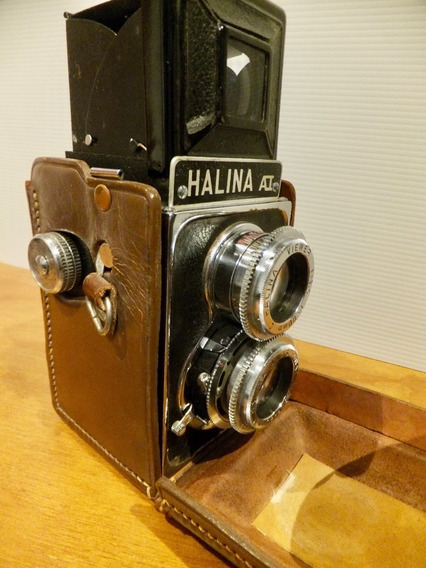 Câmera Máquina Fotográfica Halina Vintage Raríssima