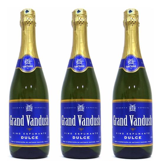 Vino Espumante Dulce Grand Vandush 750 Ml (12 Unidades)