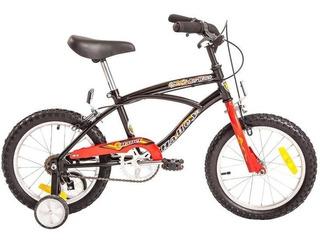 Bicicleta Playera Rodado 16 Halley Con Rueditas Varon