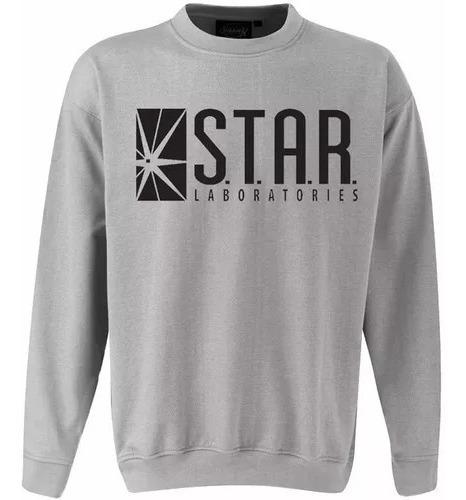 Moletom Sueter Star Laboratories Series Cinza