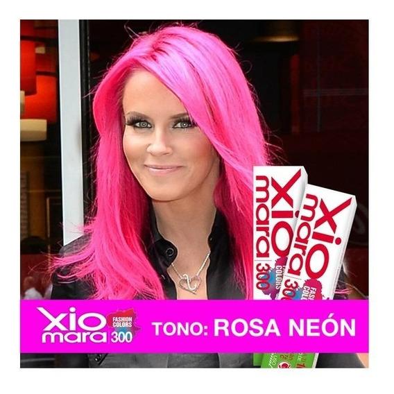 2 Cajillas Tono Rosa Neón X300fc