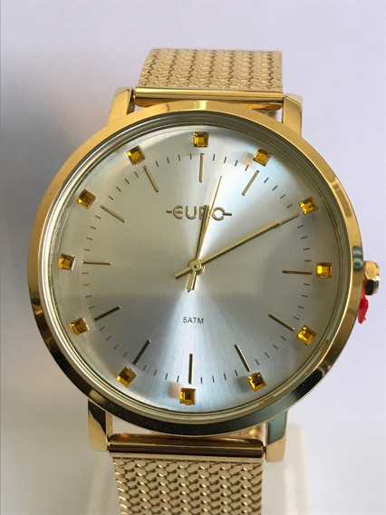 Relógio Euro Feminino Dourado Eu2035ymz/4d