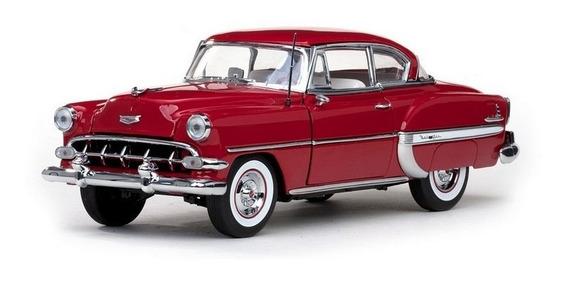1954 Chevrolet Bel Air Vermelho - Escala 1:18 - Sun Star
