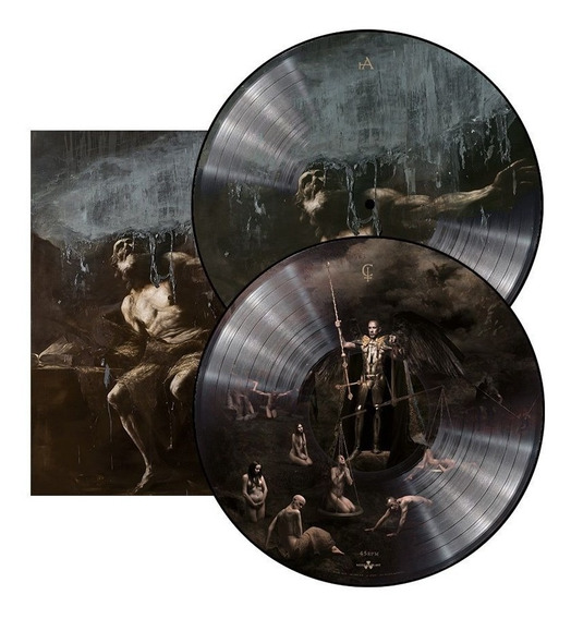 Lp Duplo Picture Behemoth - I Loved You At Your Darkest Imp