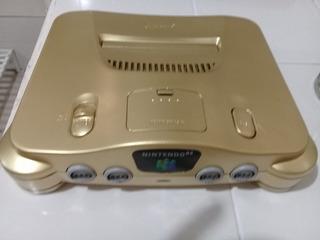 Nintendo 64 Dorado Completo