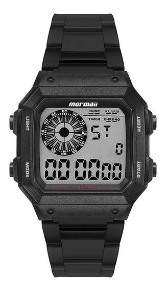 Relógio Mormaii Masculino Vibe Preto Mo2003jc8p