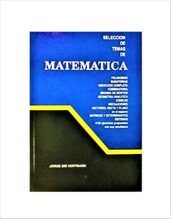 Matematica De 5to Año De Bachillerato De Hoffman Con Formula